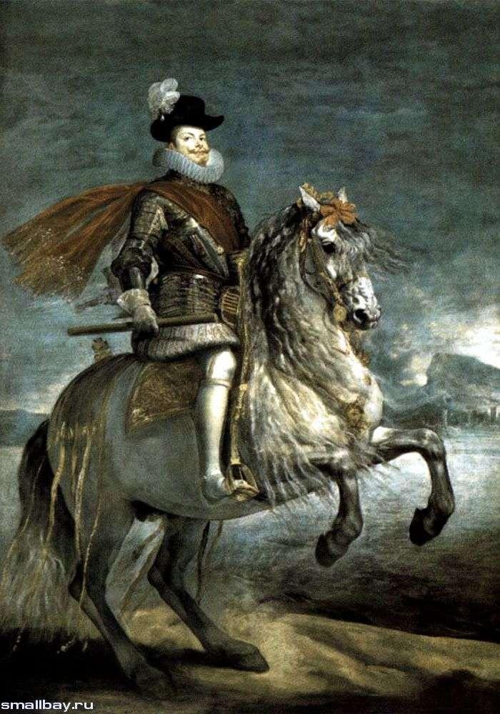 Портрет короля Филиппа III   Диего Веласкес