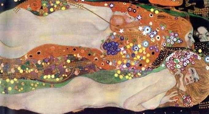 Водяные змеи II   Густав Климт