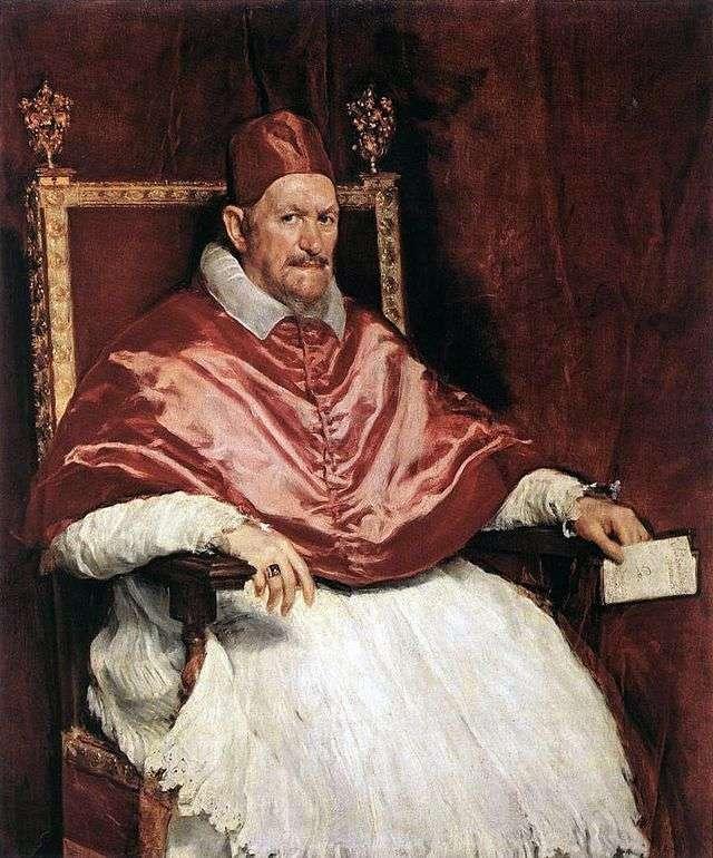 Портрет римского Папы Иннокентия Х   Диего Веласкес