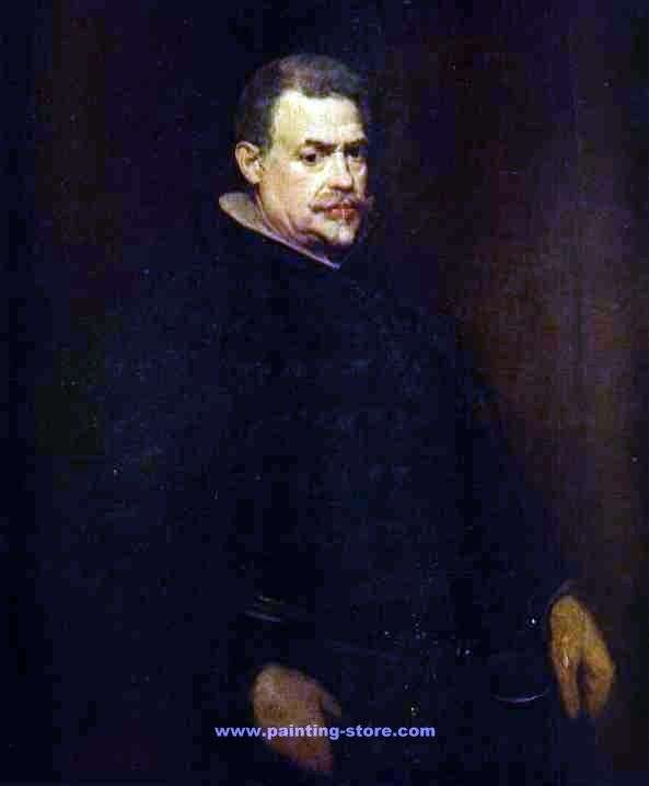 Портрет Хуана Матеоса   Диего Веласкес