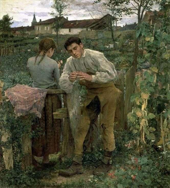Деревенская любовь   Жюль Бастьен Лепаж