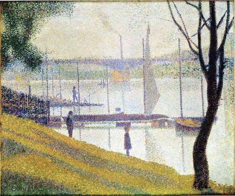 Мост в Курбвуа   Жорж Сера