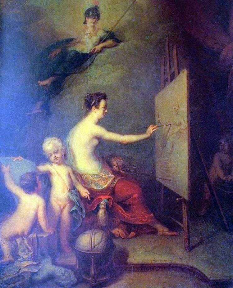 Аллегория живописи   Андрей Матвеев