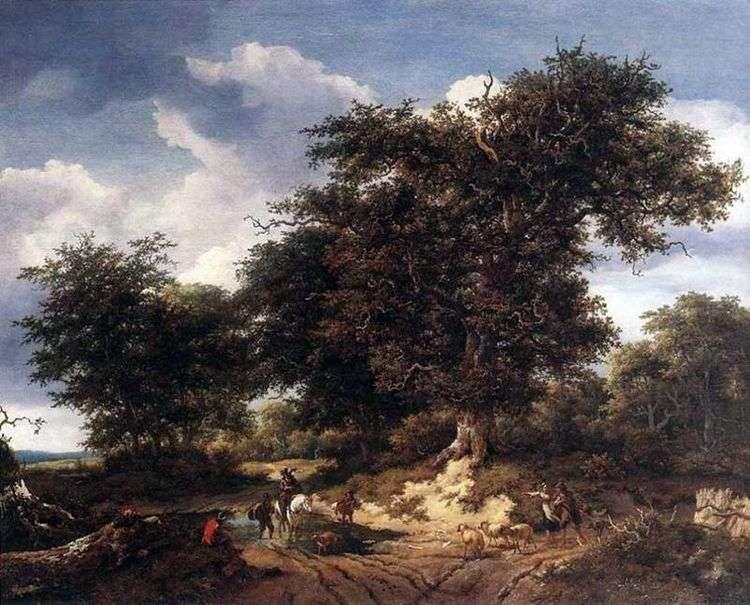 Большой дуб   Якоб ван Рейсдал