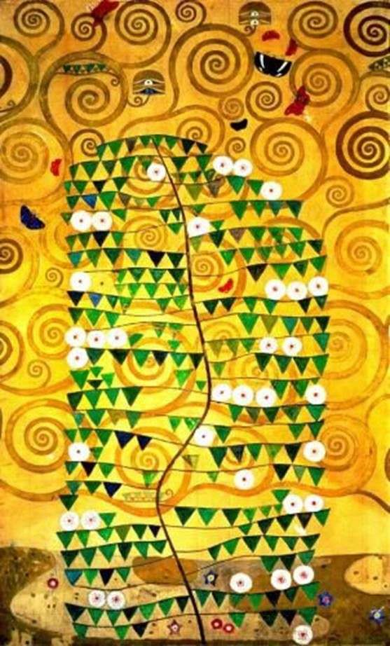 Панно в столовой дворца Стокле   Густав Климт