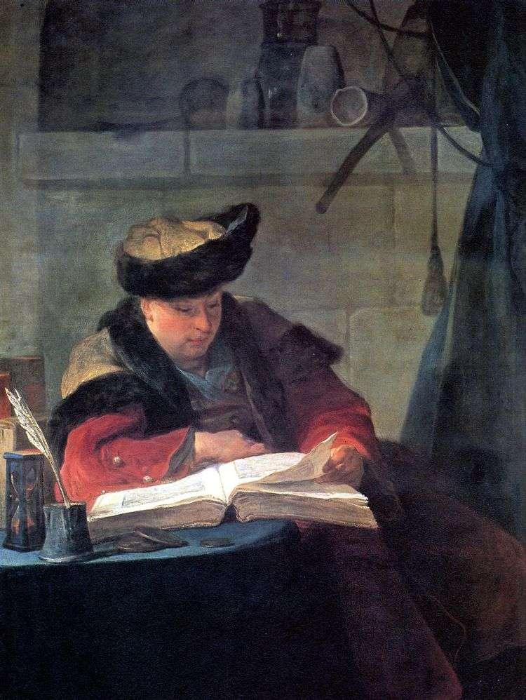 Портрет художника Жозефа Аведа   Жан Батист Симеон Шарден