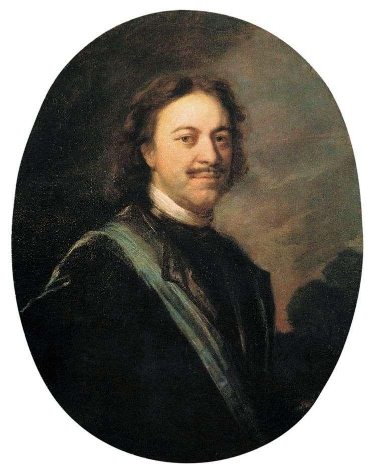 Портрет Петра Великого   Андрей Матвеев