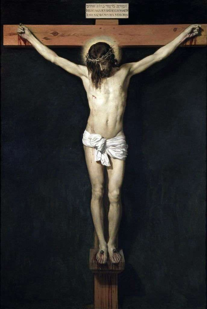 Христос на кресте   Диего Веласкес