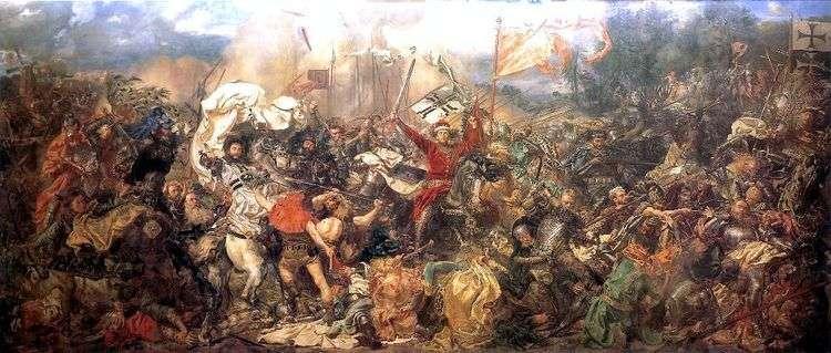 Битва под Грюнвальдом   Ян Алоизий Матейко