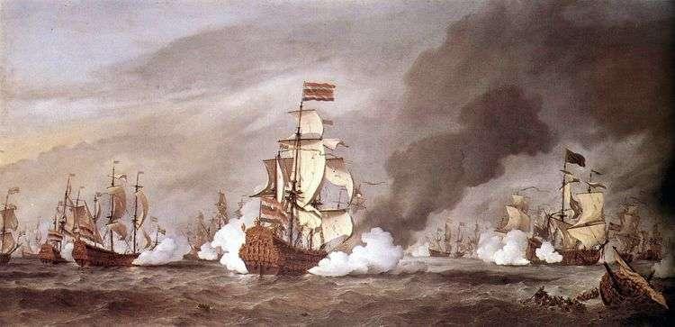 Битва при Текселе   Виллем ван де Велде