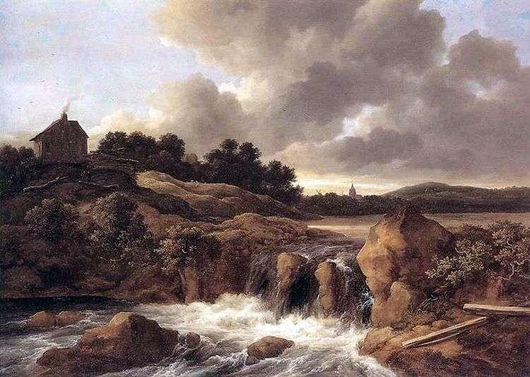 Водопады   Якоб ван Рейсдал