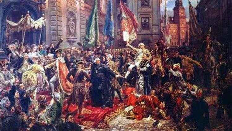 Конституция 3 мая   Ян Алоизий Матейко