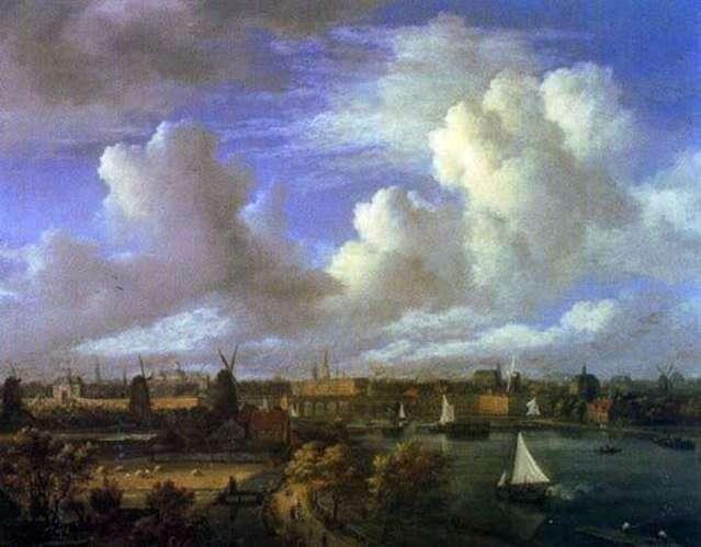 Городские виды   Якоб ван Рейсдал