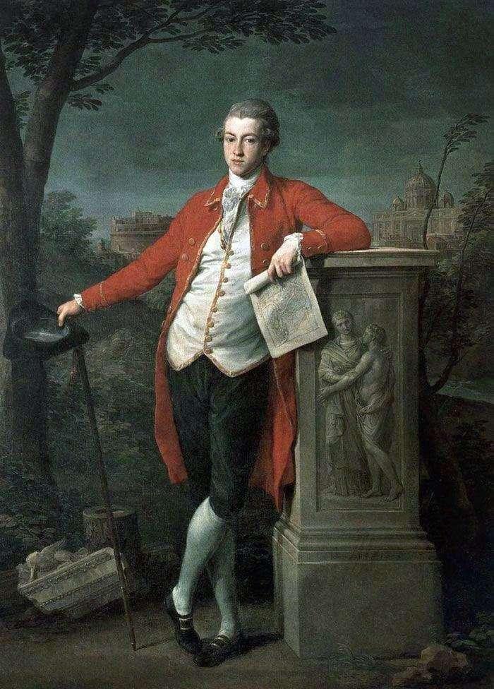 Князь в Риме, Чарльз Робертс   Помпео Батони