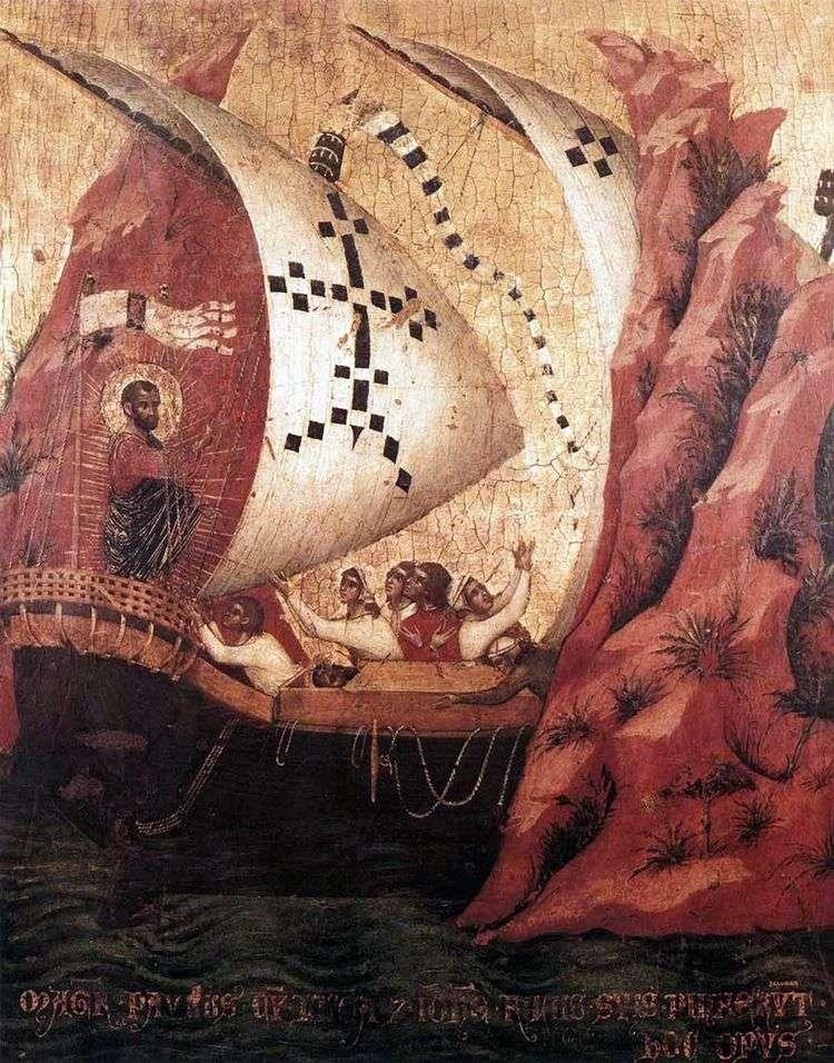 Св. Марк успокаивает море   Паоло Венециано