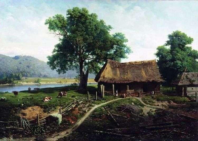 Вид на острове Валааме   Михаил Клодт