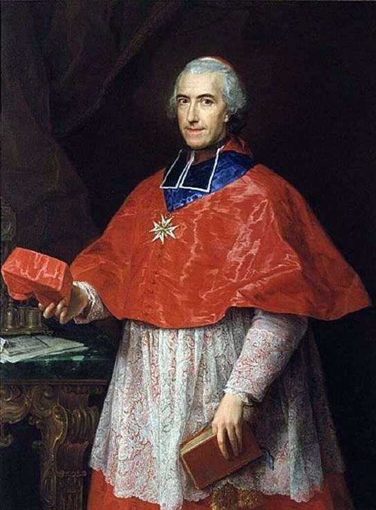 Портрет кардинала Жан Франсуа де Рожешуара   Помпео Батони