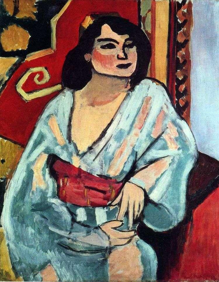 Алжирская женщина   Анри Матисс
