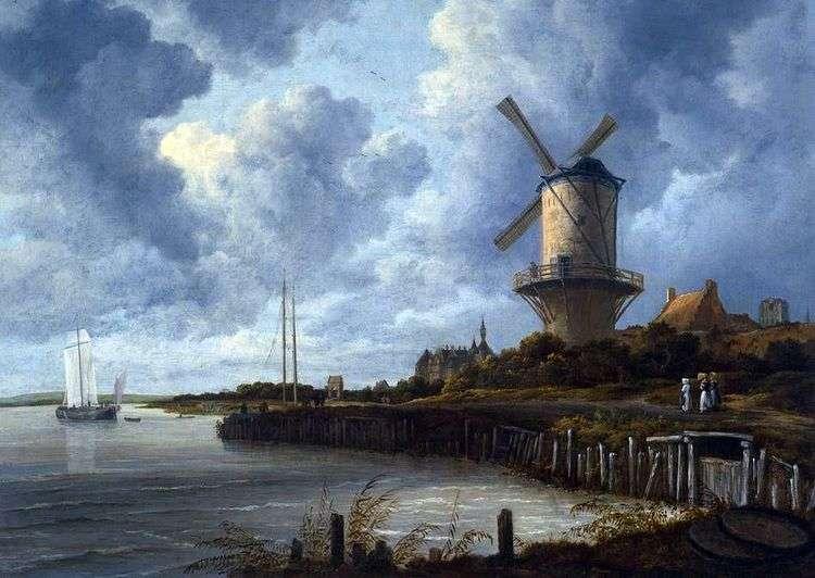 Мельница в Вейке   Якоб ван Рейсдал