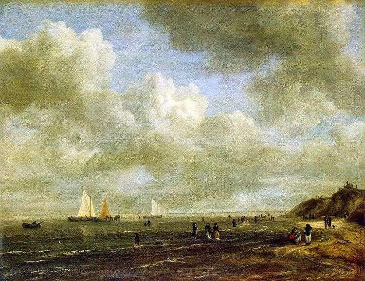 Морской берег   Якоб ван Рейсдаль