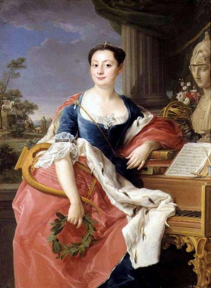 Портрет принцессы Гиацинты Орсини   Помпео Батони