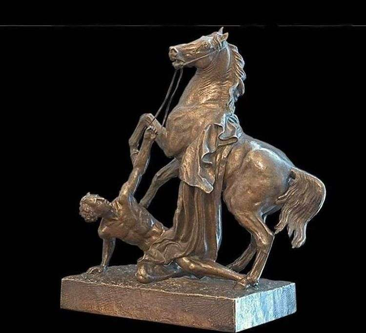 Конь с водничим   Петр Клодт