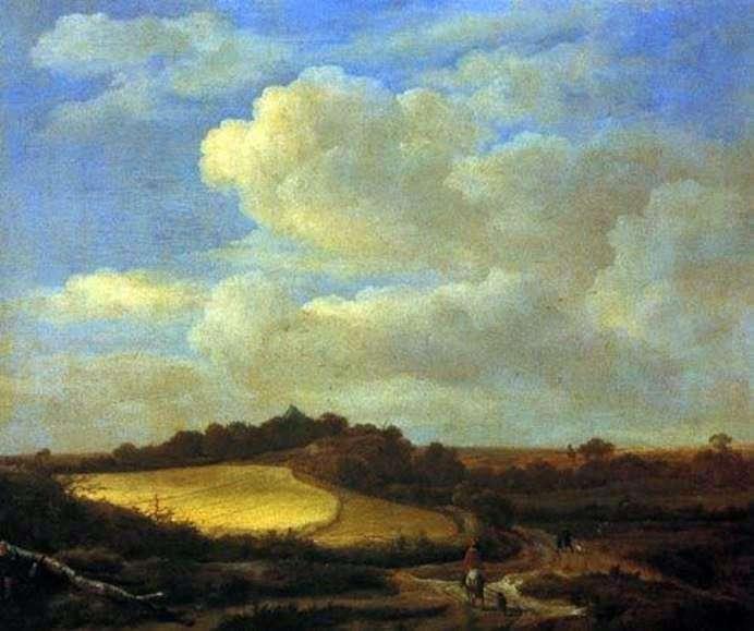 Пейзаж   Якоб ван Рейсдал