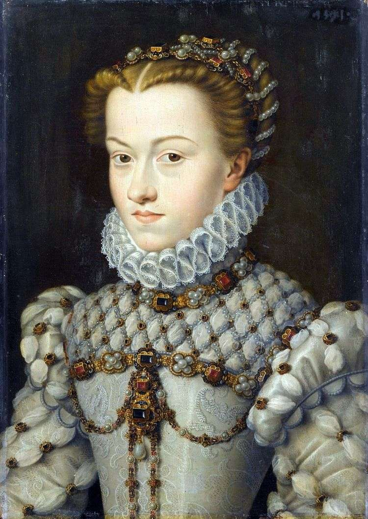 Принцесса Елизавета Австрийская   Франсуа Клуэ