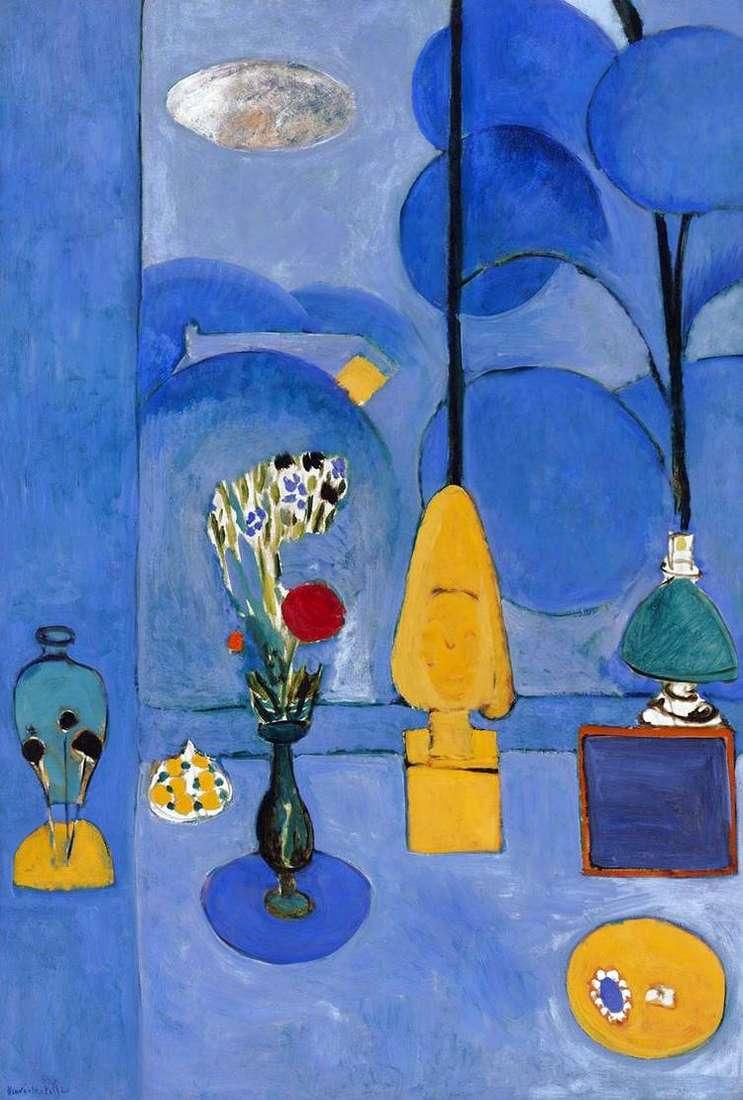 Голубое окно   Анри Матисс
