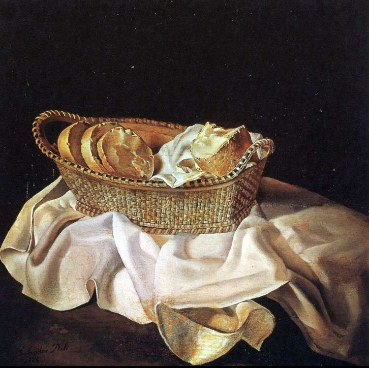 Корзинка с хлебом   Сальвадор Дали