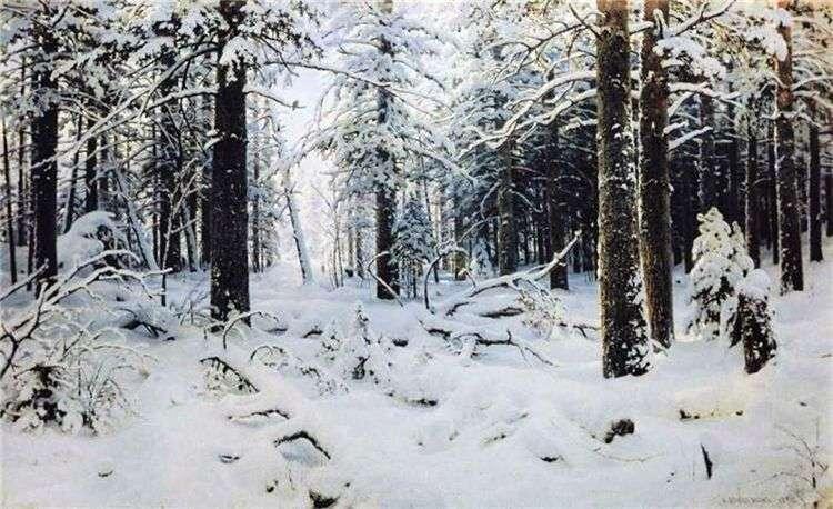 Зима   Иван Шишкин