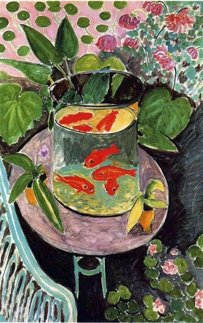 Красные рыбки   Анри Матисс