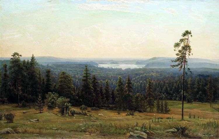 Лесные дали   Иван Шишкин