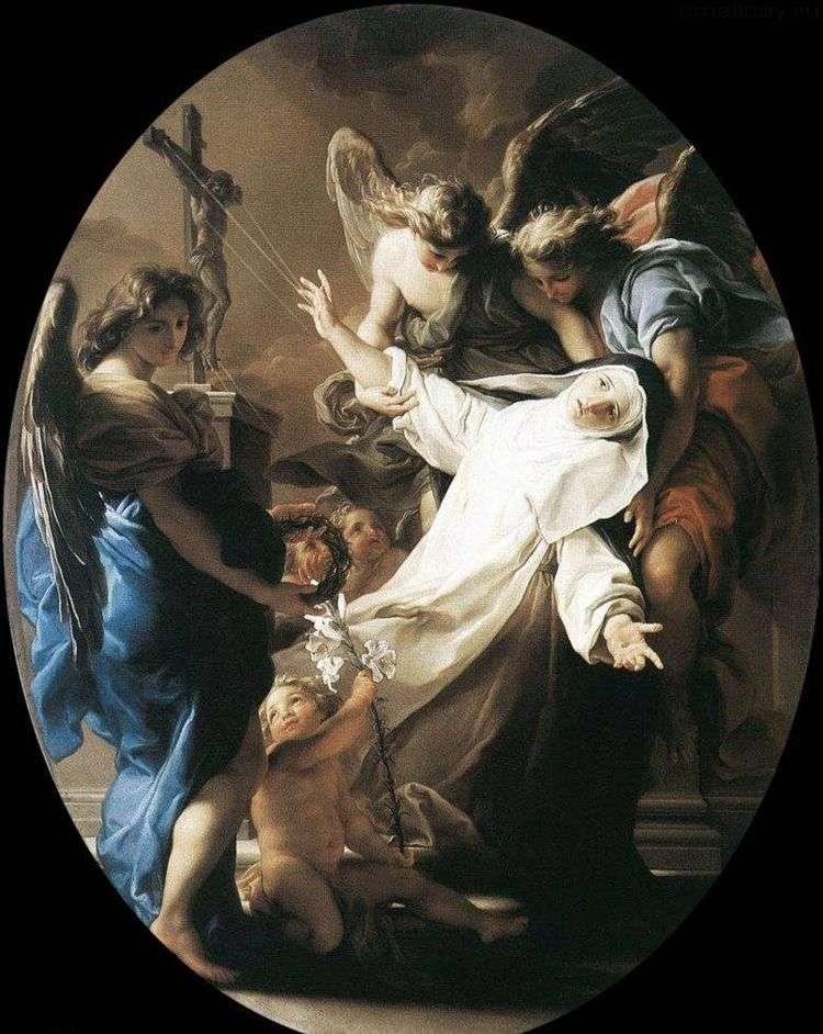 Экстаз святой Екатерины Сиенской   Помпео Батони
