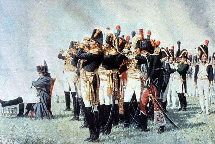 Наполеон на Бородинских высотах   Василий Верещагин