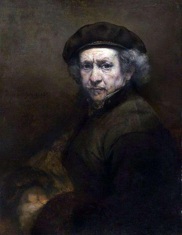 Автопортрет Рембрандта. Техника зеркал   Рембрандт Харменс Ван Рейн