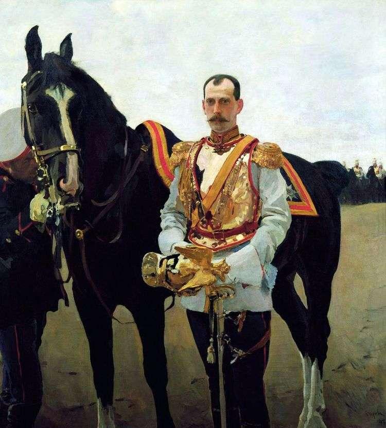 Портрет великого князя Павла Александровича   Валентин Серов