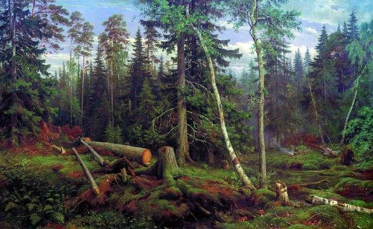 Рубка леса   Иван Шишкин