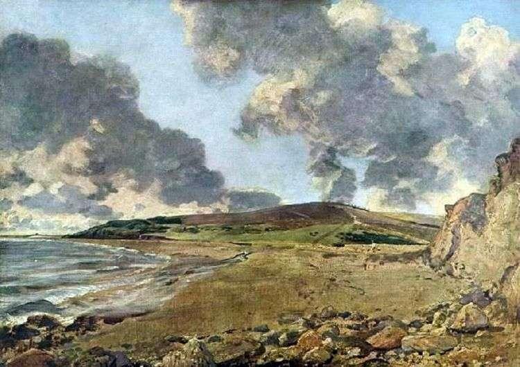 Залив Веймут с горой Джордан   Джон Констебл