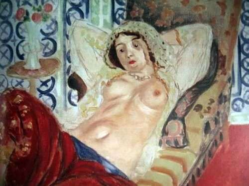 Одалиска в красных шароварах   Анри Матисс
