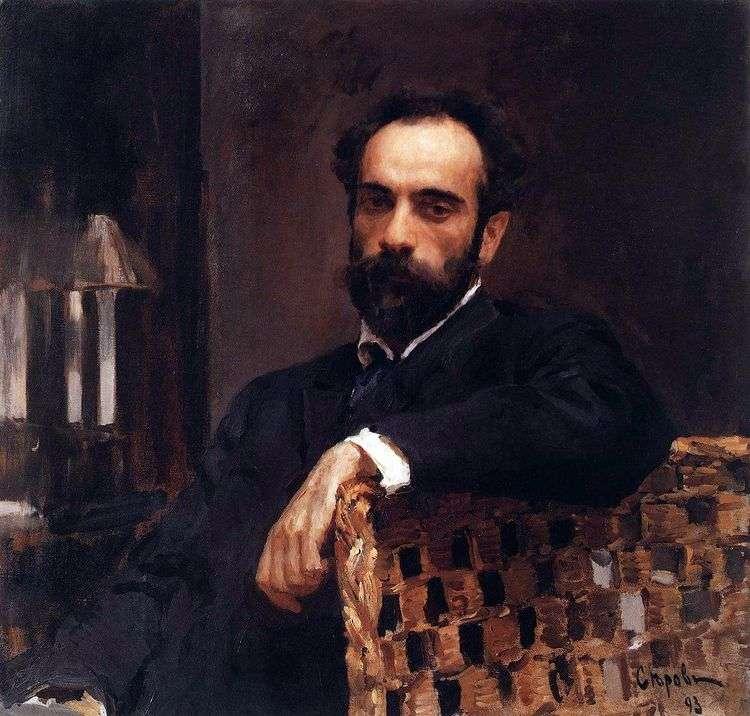 Портрет И. И. Левитана   Валентин Серов