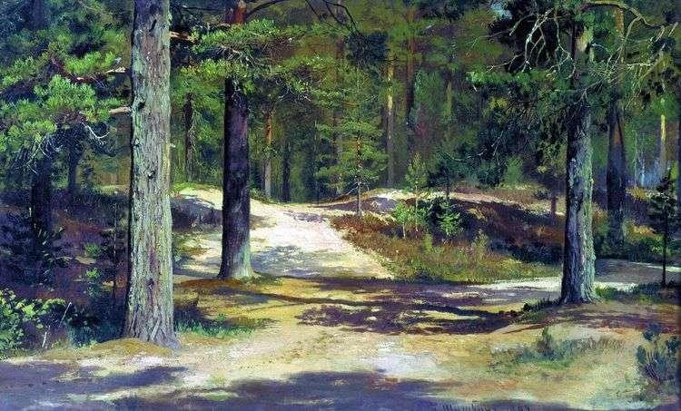 Сосновый лес   Иван Шишкин