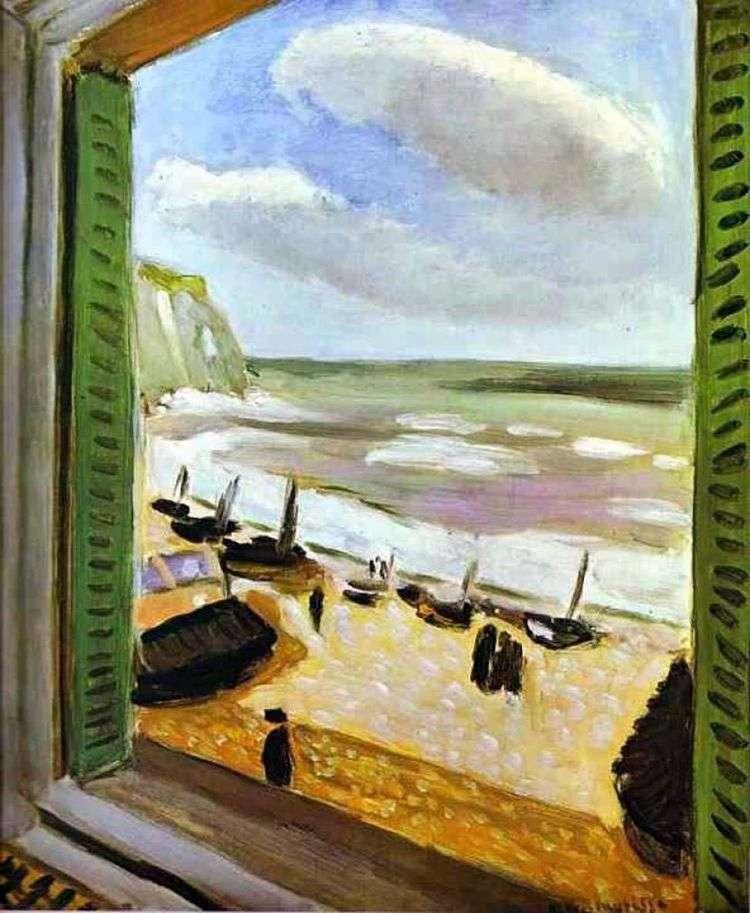 Открытое окно в Коллиуре   Анри Матисс