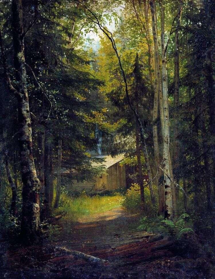 Сторожка в лесу   Иван Шишкин