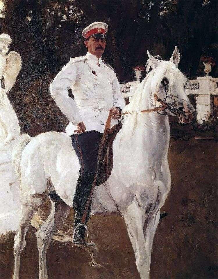 Портрет князя Ф. Ф. Юсупова   Валентин Серов