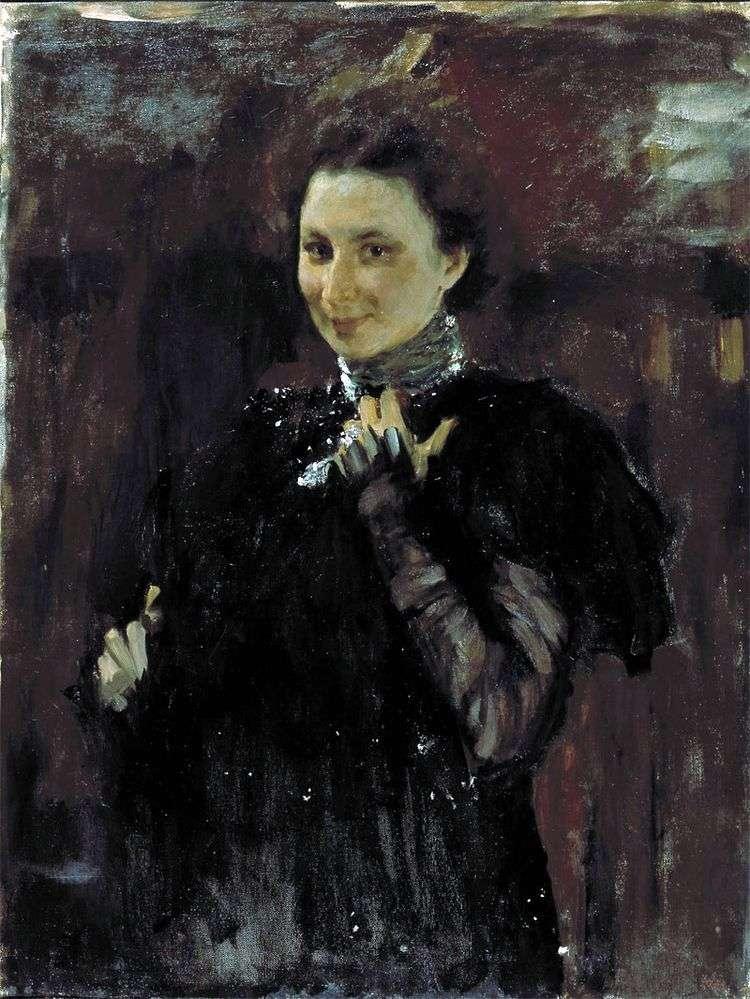 Портрет М. К. Олив   Валентин Серов