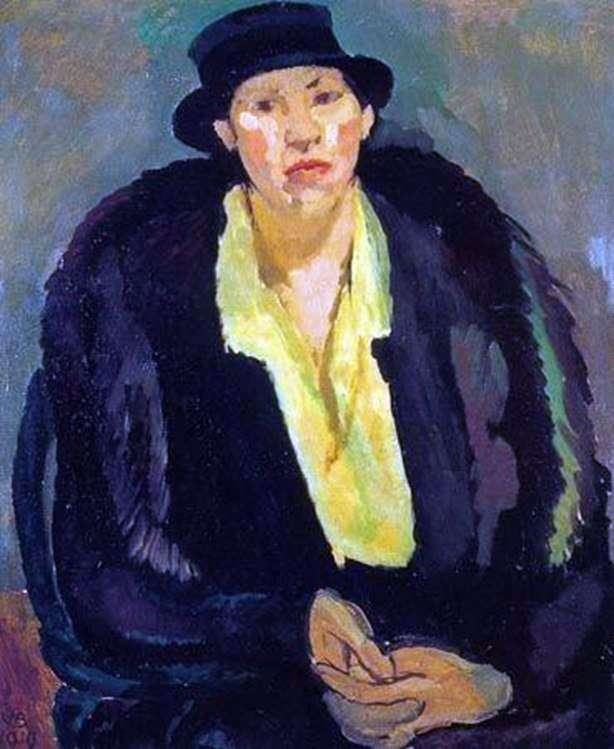 Женщина в мехах   Ванесса Белл