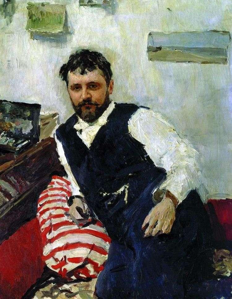 Портрет художника К. А. Коровина   Валентин Серов