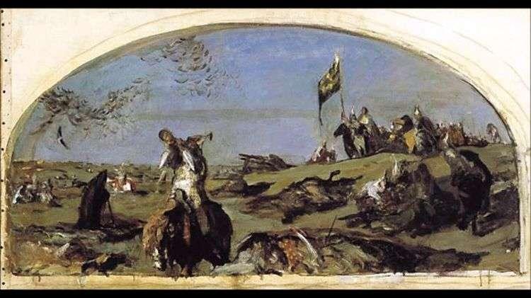 После Куликовской битвы   Валентин Серов