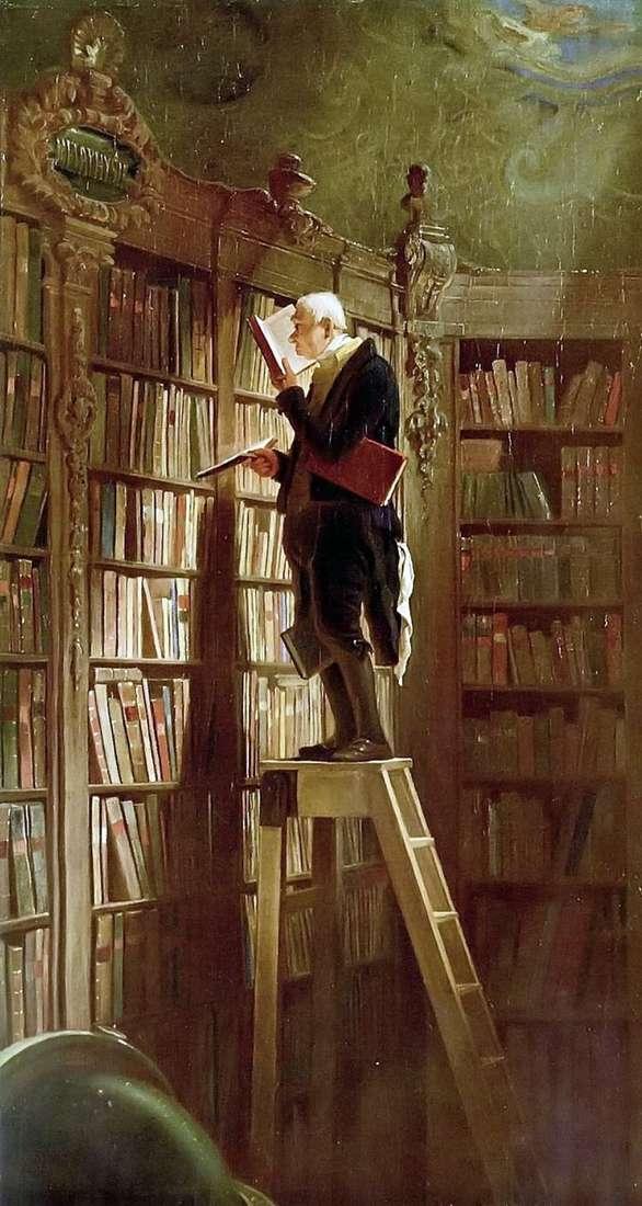 Книжный червь   Карл Шпицвег
